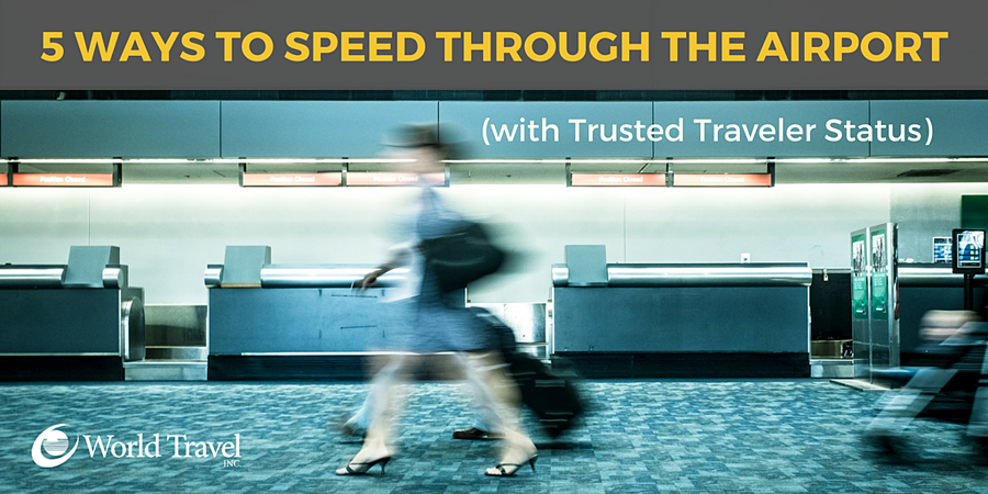 5 Ways to Speed Through the Airport (with Trusted Traveler Status)