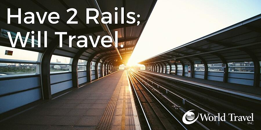 Have 2 Rails; Will Travel.