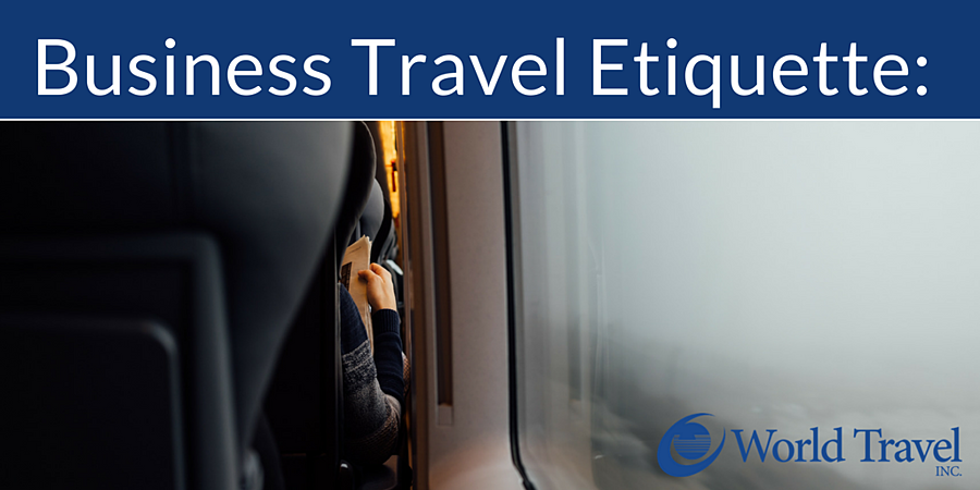 Business Travel Etiquette: We Are Not Animals