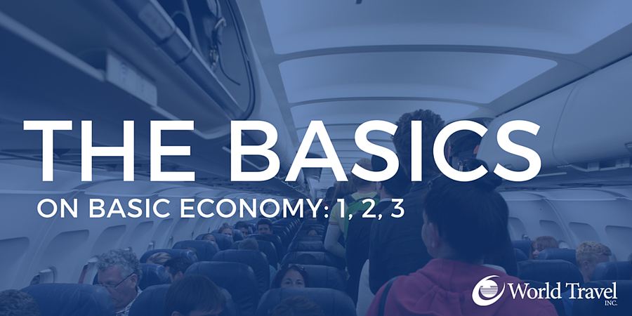 The Basics on Basic Economy: 1, 2, 3
