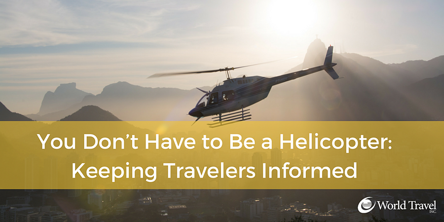 You Don't Have to Be a Helicopter.