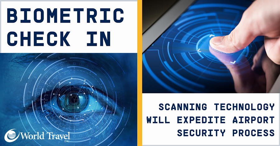 Biometric Check In: Scanning Technology Will Expedite Airport Security Process