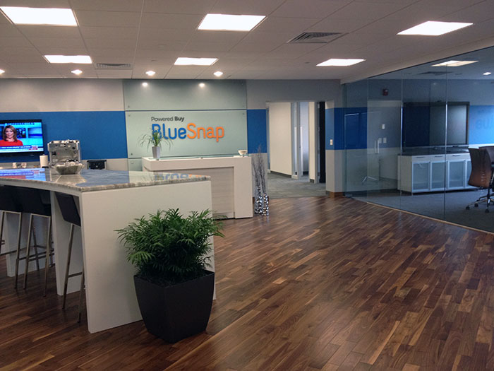 BlueSnap office in Waltham