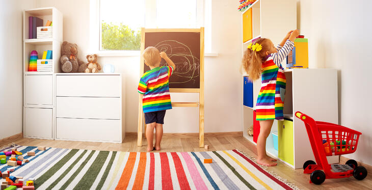 Think Outside The Toybox - Toy Storage Hacks For Growing Families