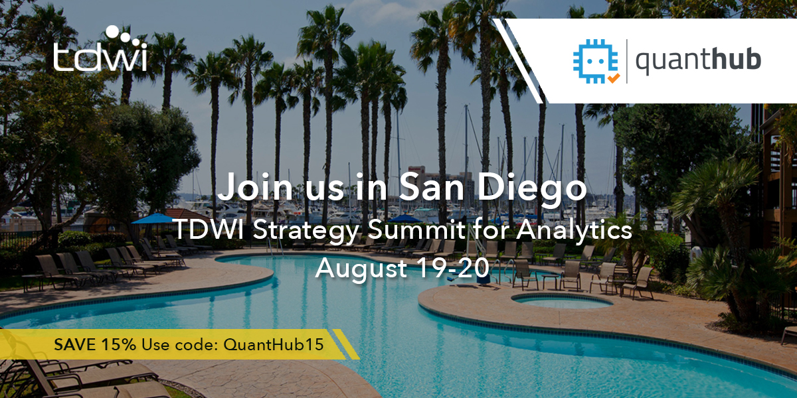TWDI Strategy Summit for Analytics