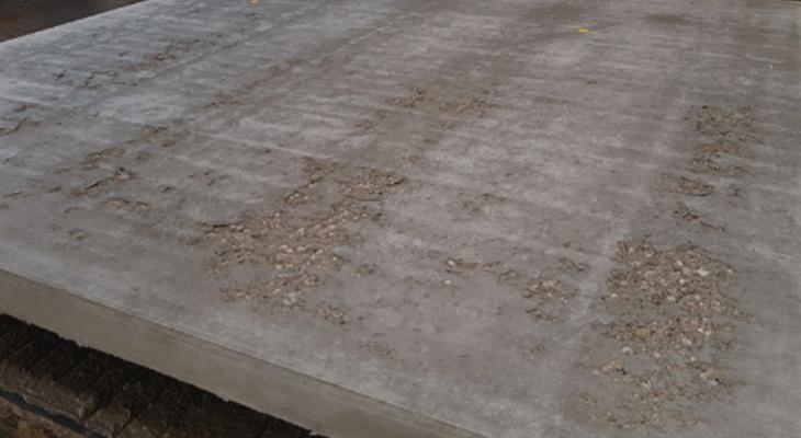 sticking-concrete