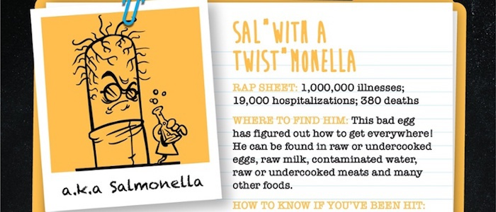 How To NOT Invite Salmonella To Dinner