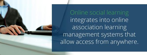 online social learning