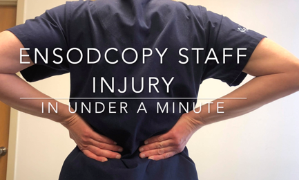 Endoscopy Staff Injury Explained in under a Minute