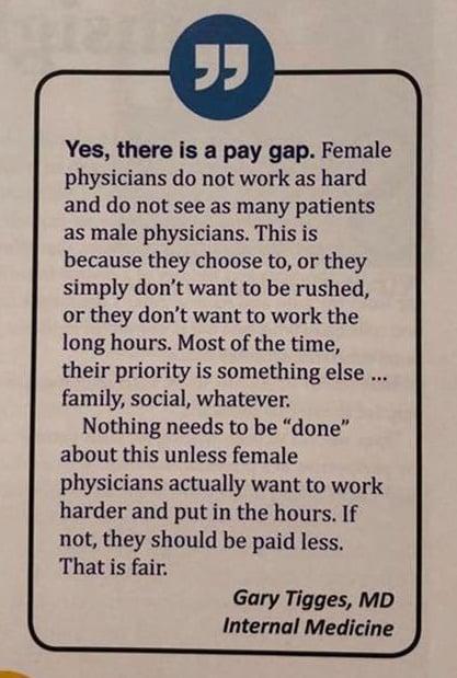 Female Gastroenterologists: Underpaid, Under-Represented