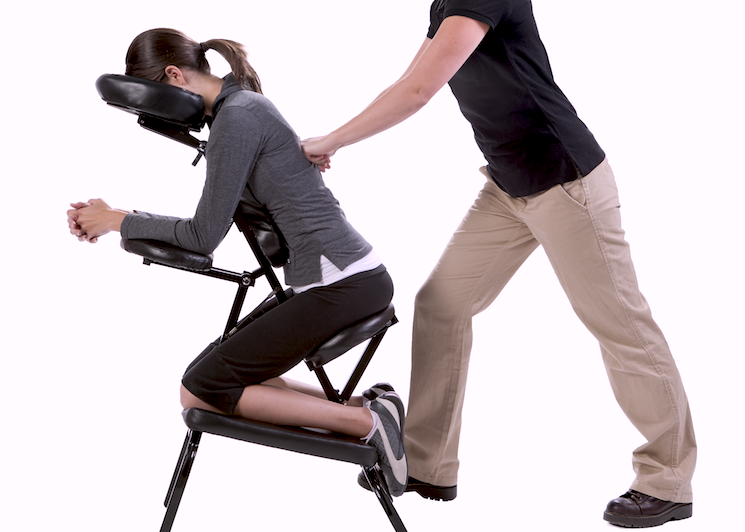 chair massage. Benefits Of Corporate Massage Chair \