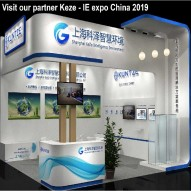 Kuntze on the IE expo China 2019