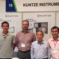 Kuntze on a EU business mission to Ho-Chi-Minh city (VNM)