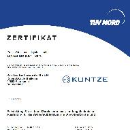 Successful DIN EN ISO 9001:2015 recertification audit