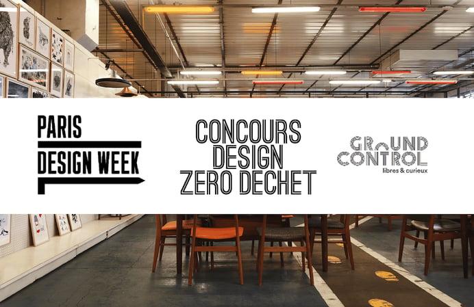 Le concours Design Zéro Déchet de retour à Paris Design Week!