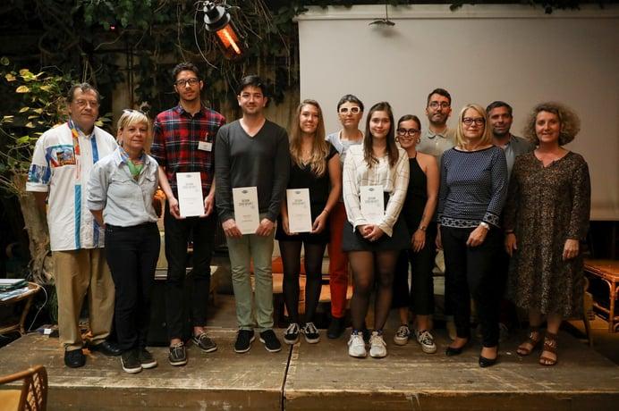 Remise des prix Concours Design Zéro Déchet : Une marraine et des partenaires impressionnés !
