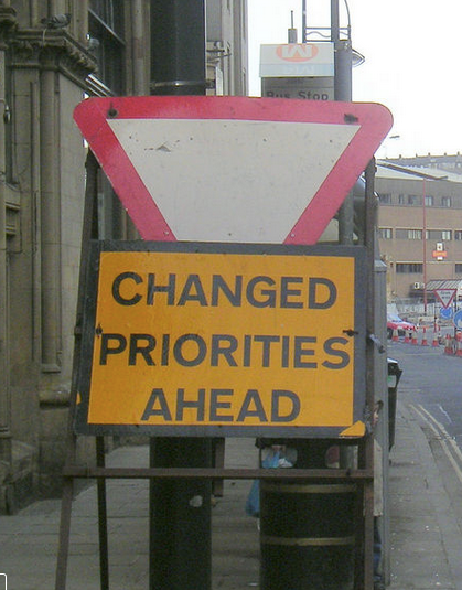 Changed-Priorities
