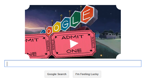 Movie theather google doodle marketing lessons