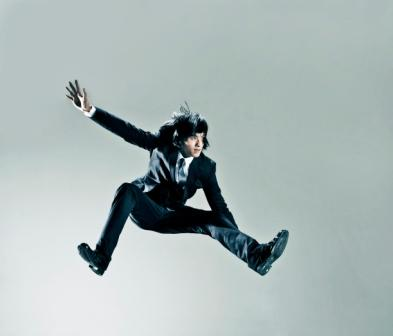 Man Jumping - How to call prospective clients to action