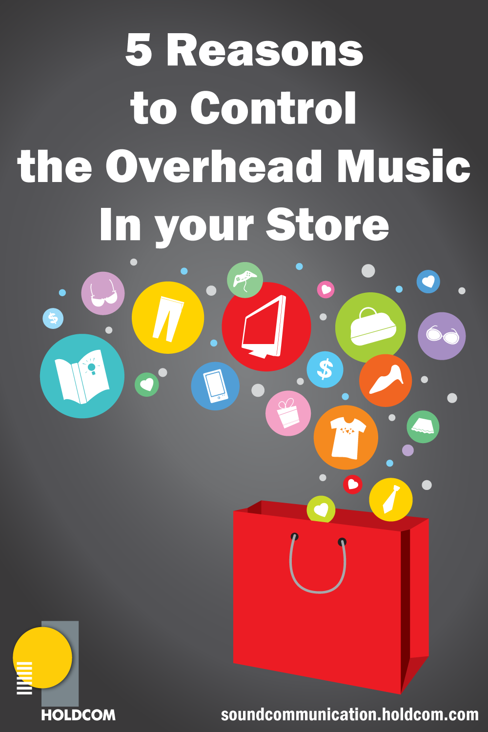 5 reasons to control overhead music