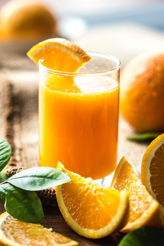 Fruit juice vs whole fruit and the risk of CVD