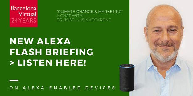 11 ALEXA   European Marketing Flash Briefing: Marketing, Innovation & Climate Change. Listen Here!
