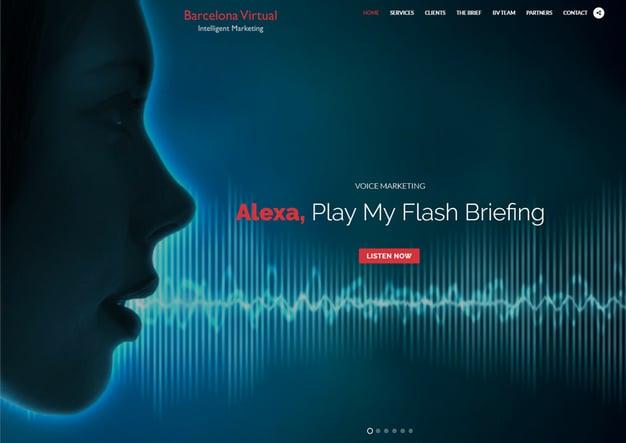 ALEXA | How to Hear Barcelona Virtual's European Marketing Flash Briefing