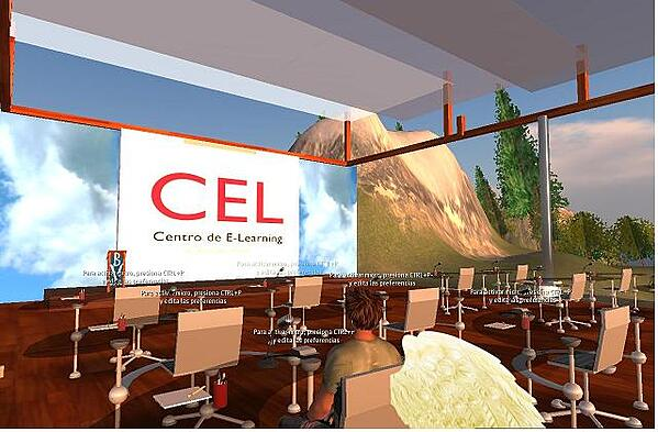 New E-Learning Center in Second Life