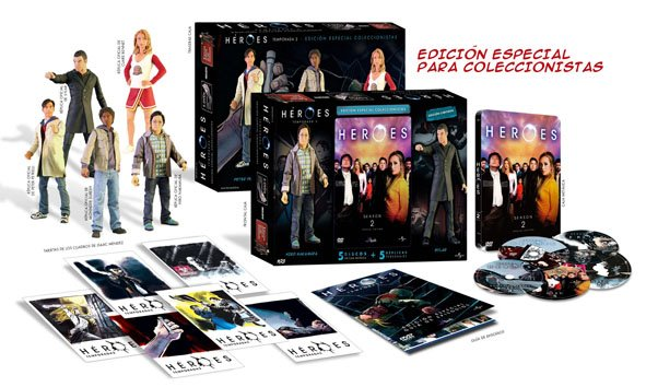 Heroes, Season 2 Now on DVD in Spain
