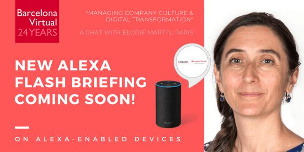 Alexa European Marketing Flash Briefing · Company Culture & Digital Disruption - EPS 13