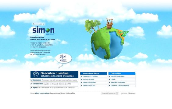 A Blue Planet for Simon