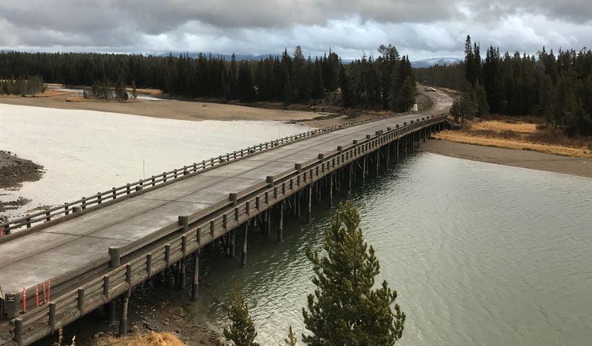 Cropped Fishing Bridge