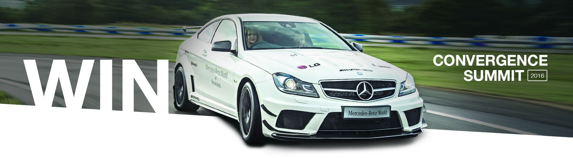 Win an AMG Performance Drive at Convergence Summit