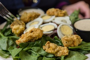 Deanie's Seafood Restaurant New Orleans French Quarter Bucktown Louisiana Seafood Oysters Fried Oysters Salad Creole Cajun Certified Authentic Louisiana Wild Fresh