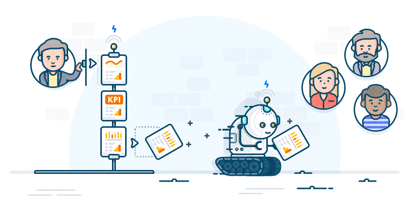 Google Analytics : why and how automate reportings and Dashboards