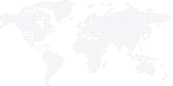 world map with circles over Guatemala City, Manila, Philippines, and Portland, OR. These are all of our locations.