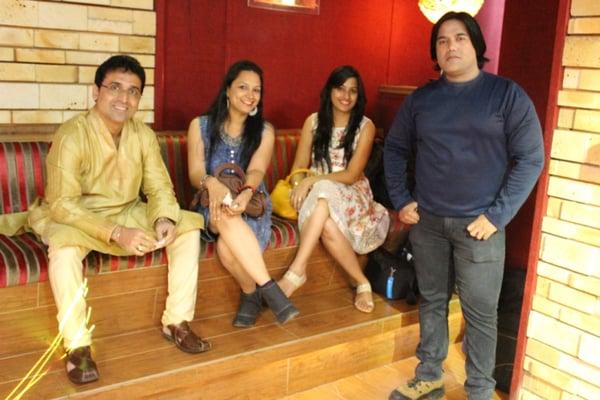 Mumbai Team Celebrate Diwali