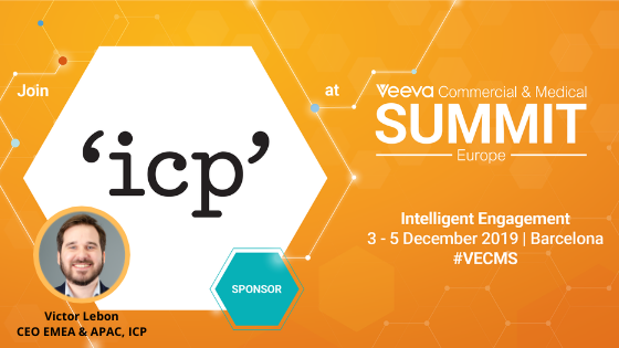 Join ICP at Veeva Barcelona!