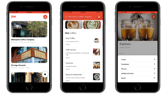 phone menu images