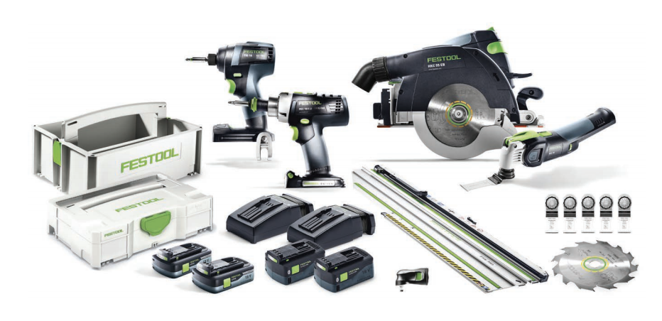 New Combo Festool Kits