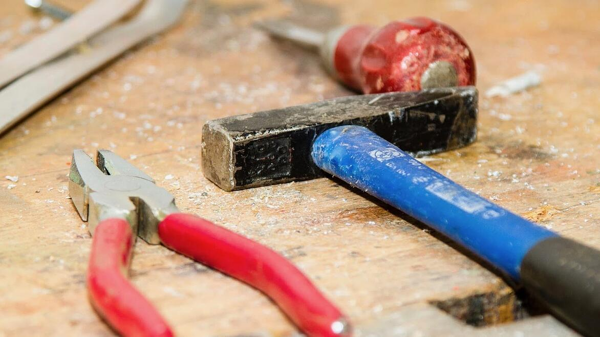 tools on a workbench-1