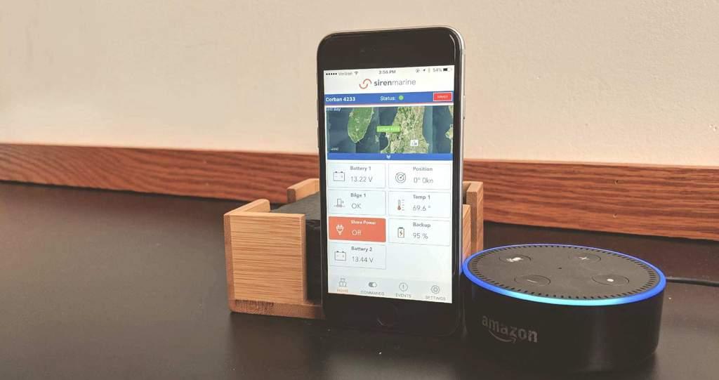 Siren Marine Introduces Integration with Amazon Alexa
