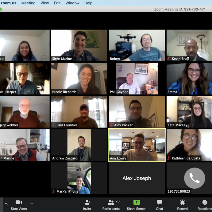 Open for Business – Siren works from home during Covid-19