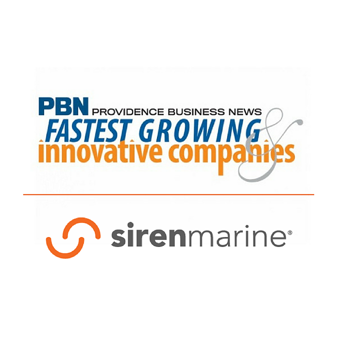 Siren Marine Named 2018 Most Innovative Company in 'Technology' Category by Providence Business News