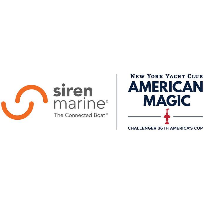 Siren Marine Selected as Connected Boat® Supplier to American Magic®