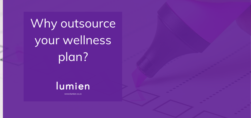 why outsource your wellness plan?