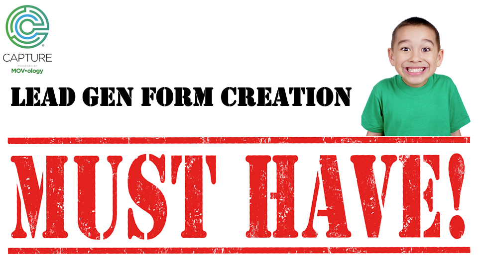 4 form creation must haves