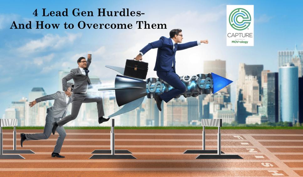 4 lead gen hurdles