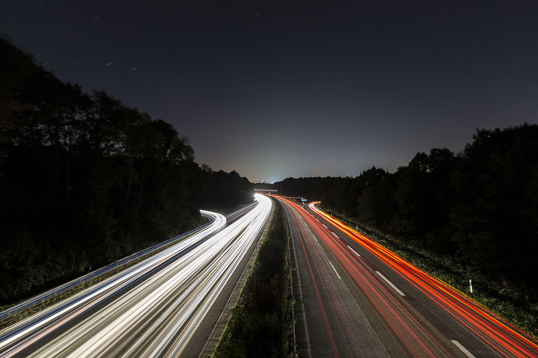 Truck driving at night - tips for a safer journey