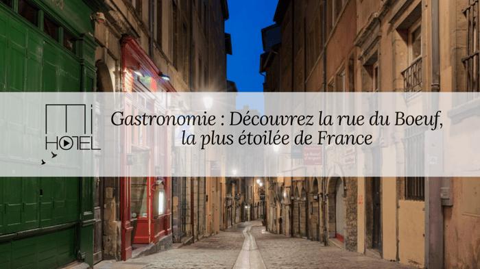 Gastronomie - Rue du Boeuf